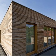 heimisches Thermoholz für Fassaden