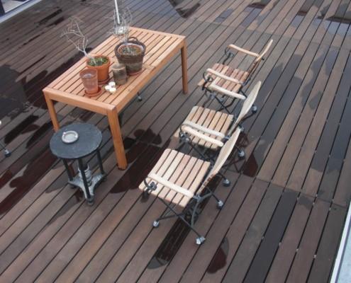 heimisches Thermoholz für Terrassen
